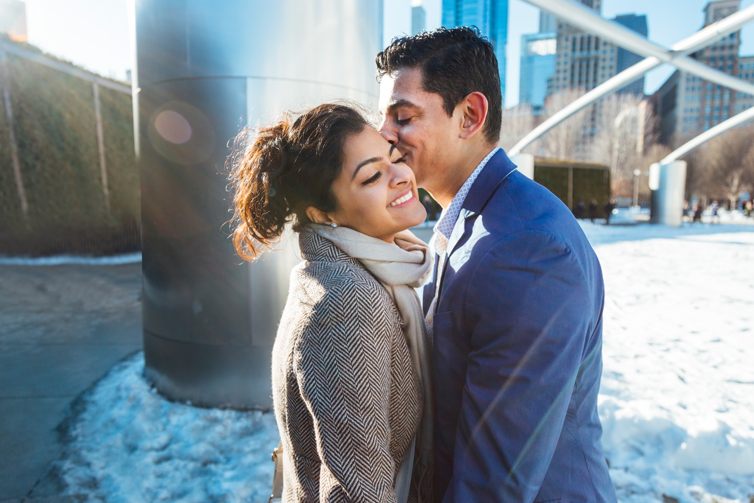Bokeh-Studios_Anil_Chicago_Proposal_Engagement_Millennium-Park_Bean_Cloud-Gate_13