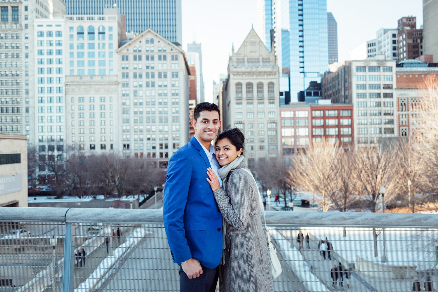 Bokeh-Studios_Anil_Chicago_Proposal_Engagement_Millennium-Park_Bean_Cloud-Gate_14