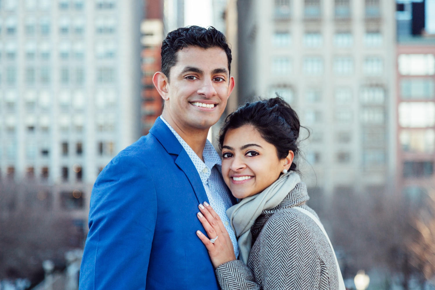 Bokeh-Studios_Anil_Chicago_Proposal_Engagement_Millennium-Park_Bean_Cloud-Gate_15