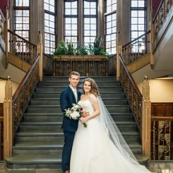 Indiana Wedding in West Lafayette, Indiana at Purdue University: Josh & Haley
