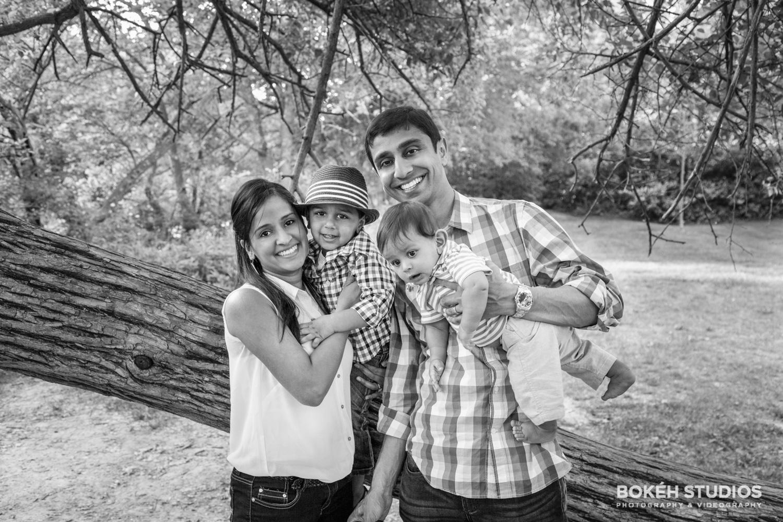 Lifestyle Shoot in Columbus, Ohio at Scotio Park: The Patel Family