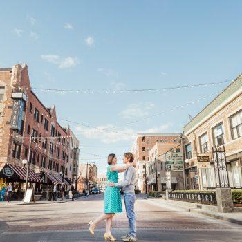 Bokeh Studios_Franklin Park_Downtown-Oak-Park-Record-Store-Engagement-Photos-Chicago-Pleasant-Home_23