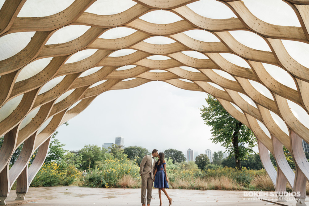 Bokeh-Studios_Chicago-Engagement-Photography_Lincoln-Park_Honeycomb-Structure-Photography_024