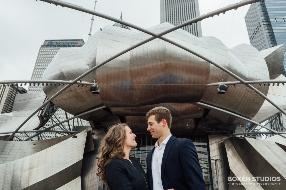 Bokeh-Studios_Chicago-Downtown-Engagement-Photography-Cultural-Center-Millennium-Park