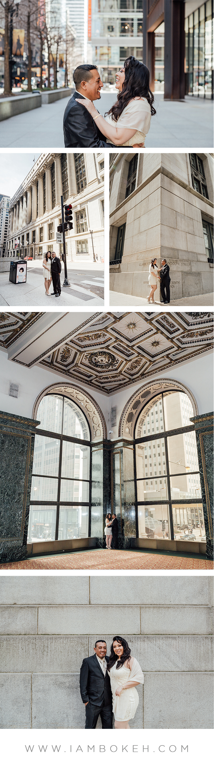 Chicago Wedding at City Hall: Expedito & Candy