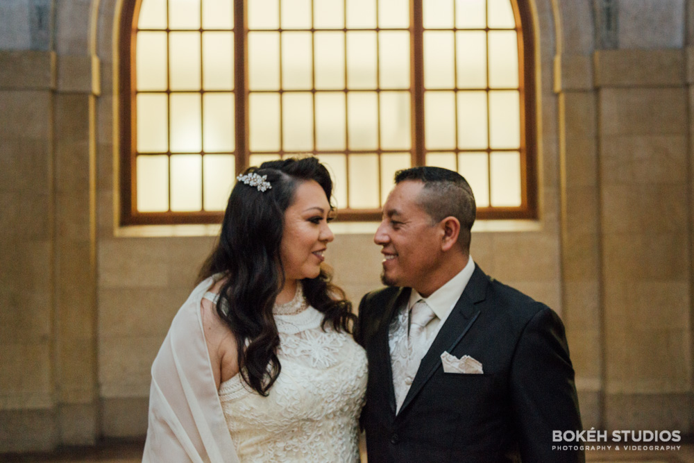 Bokeh Studios City Hall Wedding Chicago Photographers Photography Downtown 02