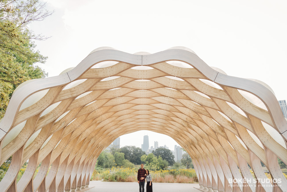 Bokeh-Studios-Engagement-Shoot-Photography-Lincoln-Park-Honeycomb-Structure-Chicago-Photographer-Best-Engaged_01