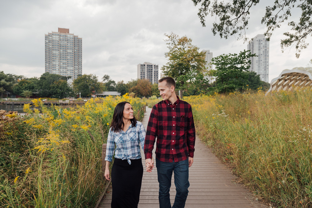 Bokeh-Studios-Engagement-Shoot-Photography-Lincoln-Park-Honeycomb-Structure-Chicago-Photographer-Best-Engaged_12
