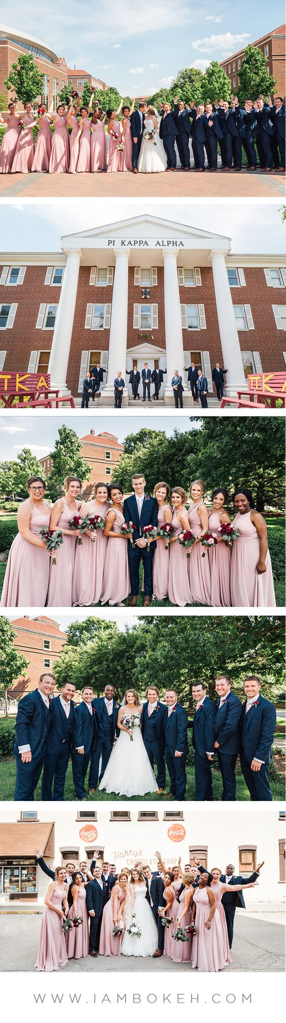 Bokéh Studios | Indiana Wedding in West Lafayette, Indiana at Purdue University: Josh & Haley