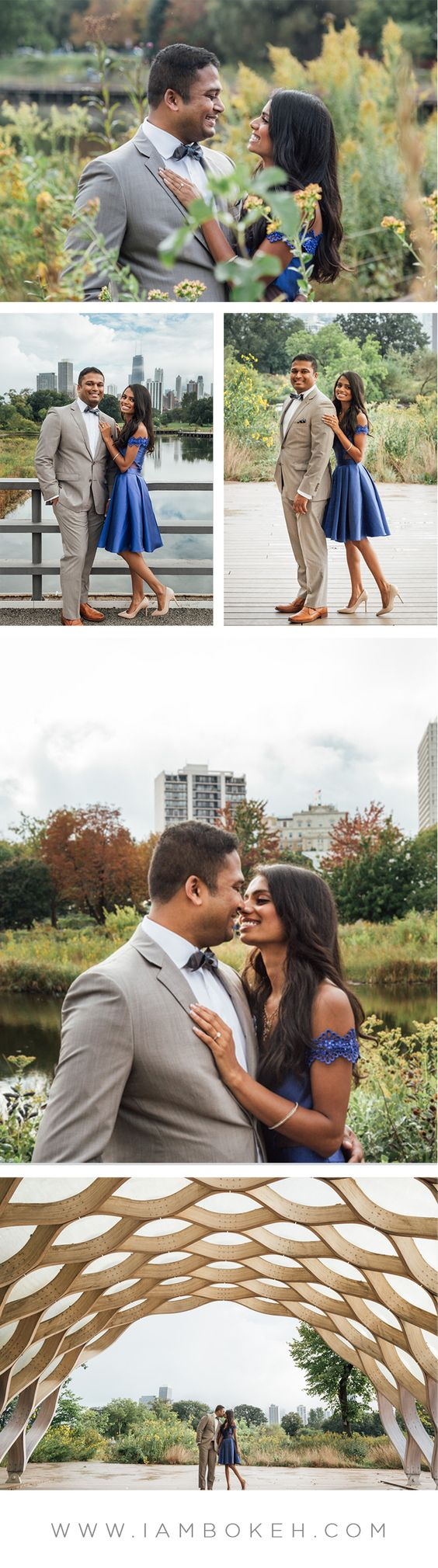 Engagement Shoot in Lincoln Park: Jerry & Rippol