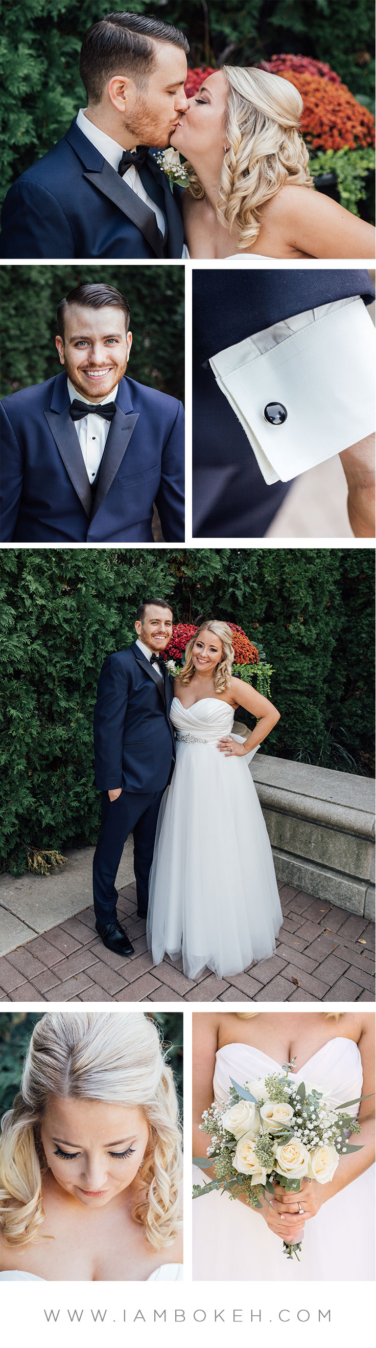 Bokéh Studios | Palatine Wedding at The Cotillion Banquets: Craig & Sarah