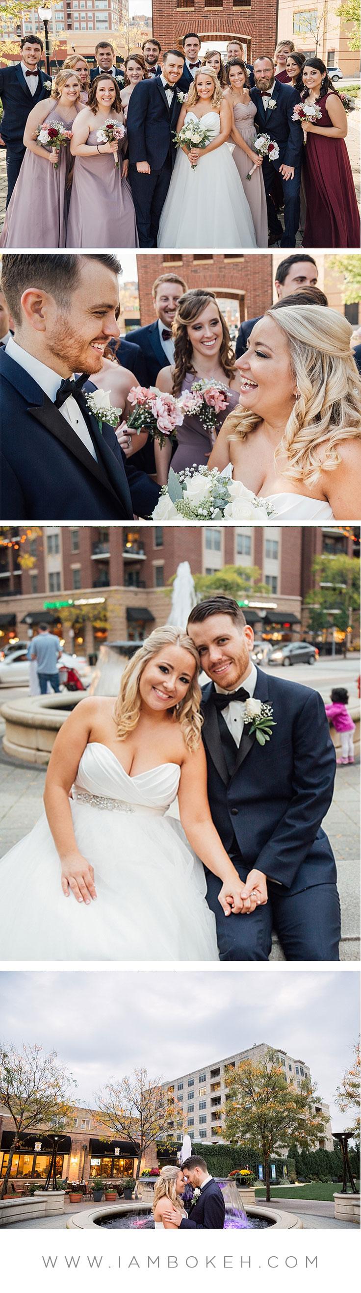 Bokéh Studios   Palatine Wedding at The Cotillion Banquets: Craig & Sarah