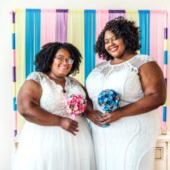 Chicago Wedding at Creativo Loft: Elizabeth & LaQueisha