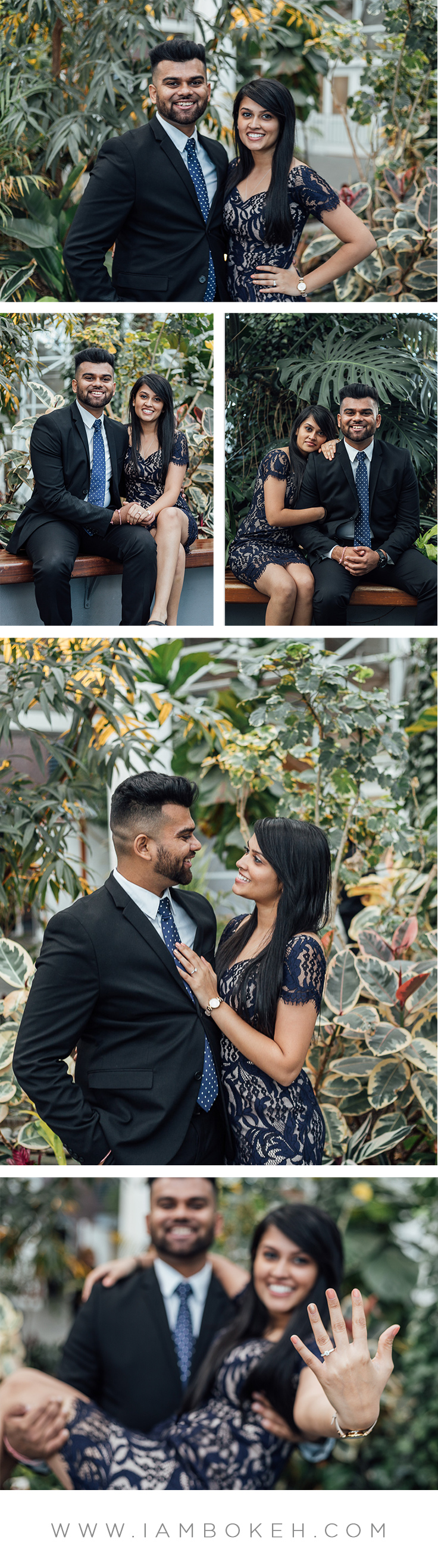 Bokéh Studios | Engagement Shoot in Chicago: Parth & Binita