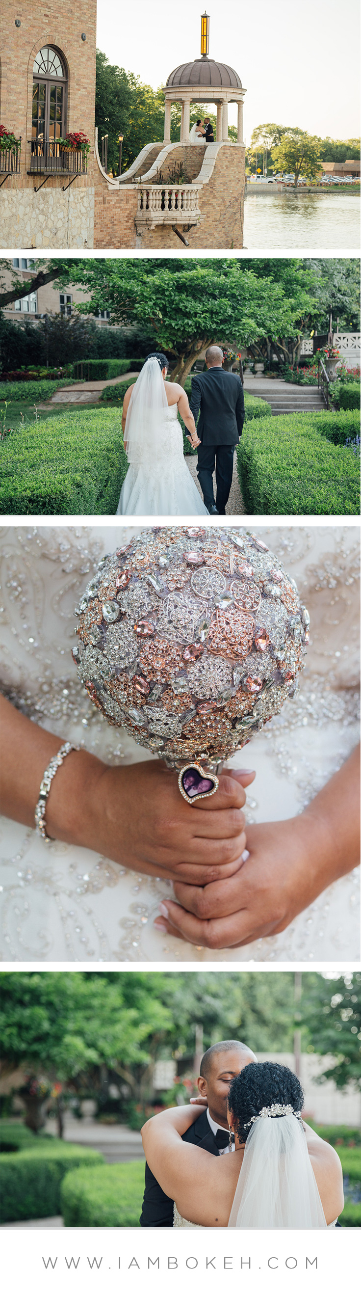 Bokéh Studios | St. Charles Wedding at Hotel Baker