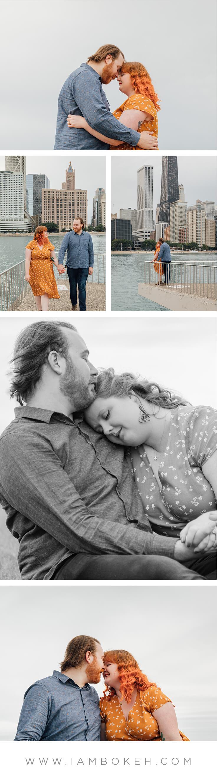 Bokéh Studios | Engagement Shoot in Chicago: Jason & Reanna