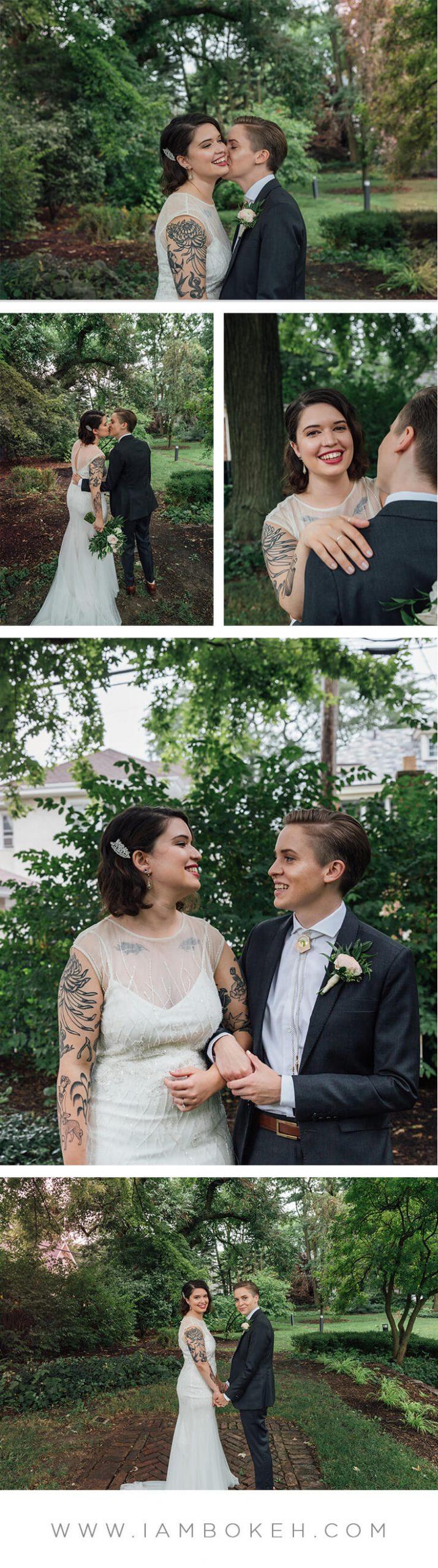 Bokéh Studios | Oak Park Wedding at Cheney Mansion: Elise & Suzannah
